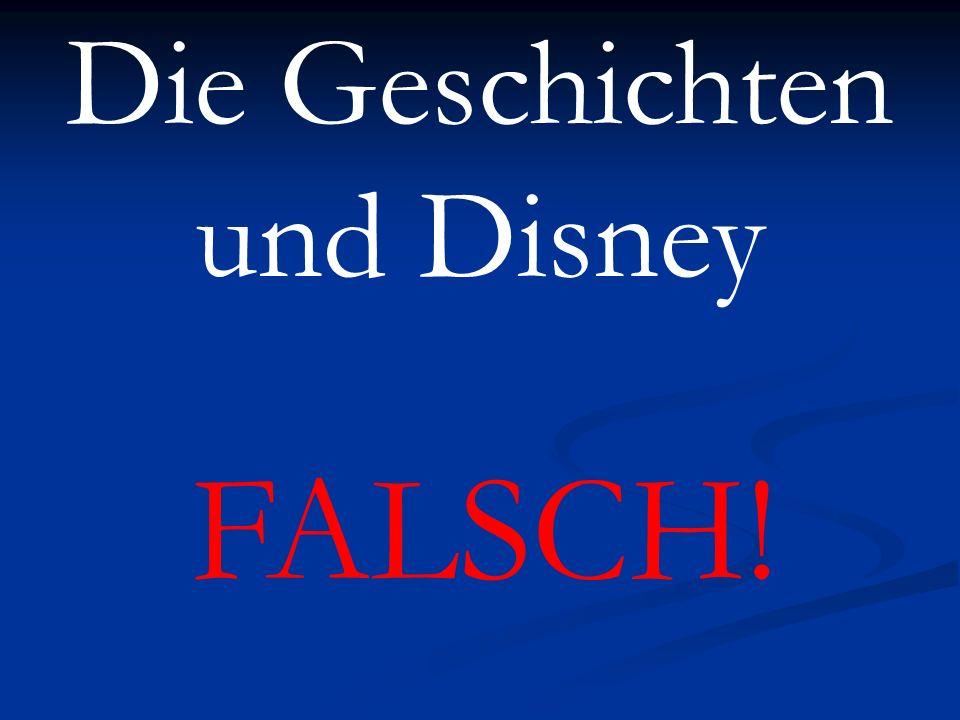 Die Geschichten und Disney