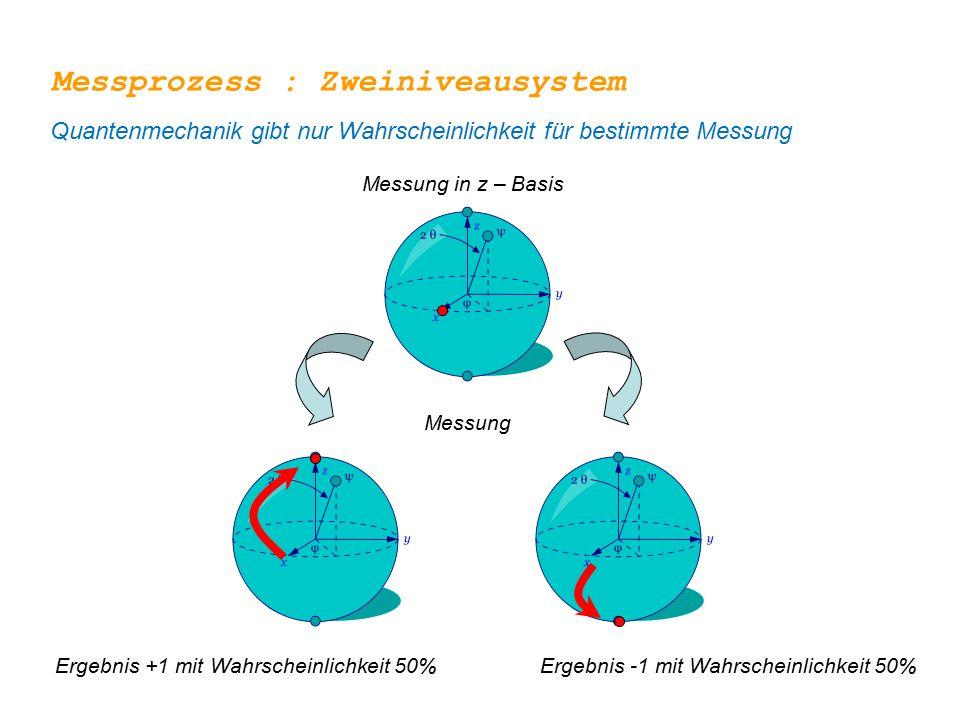 Messprozess : Zweiniveausystem