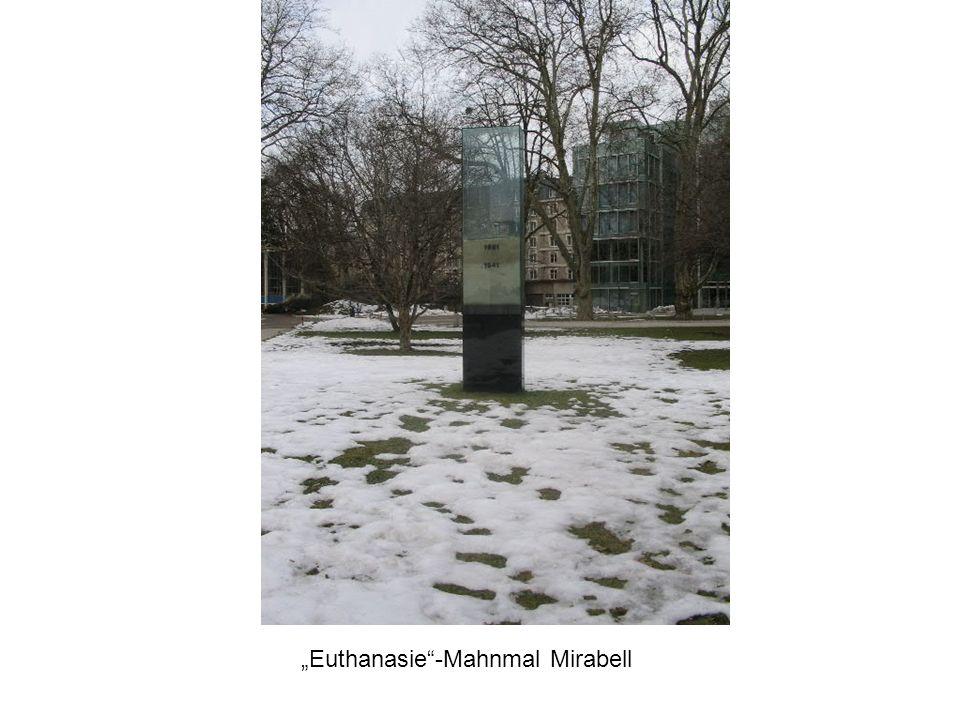 """Euthanasie -Mahnmal Mirabell"