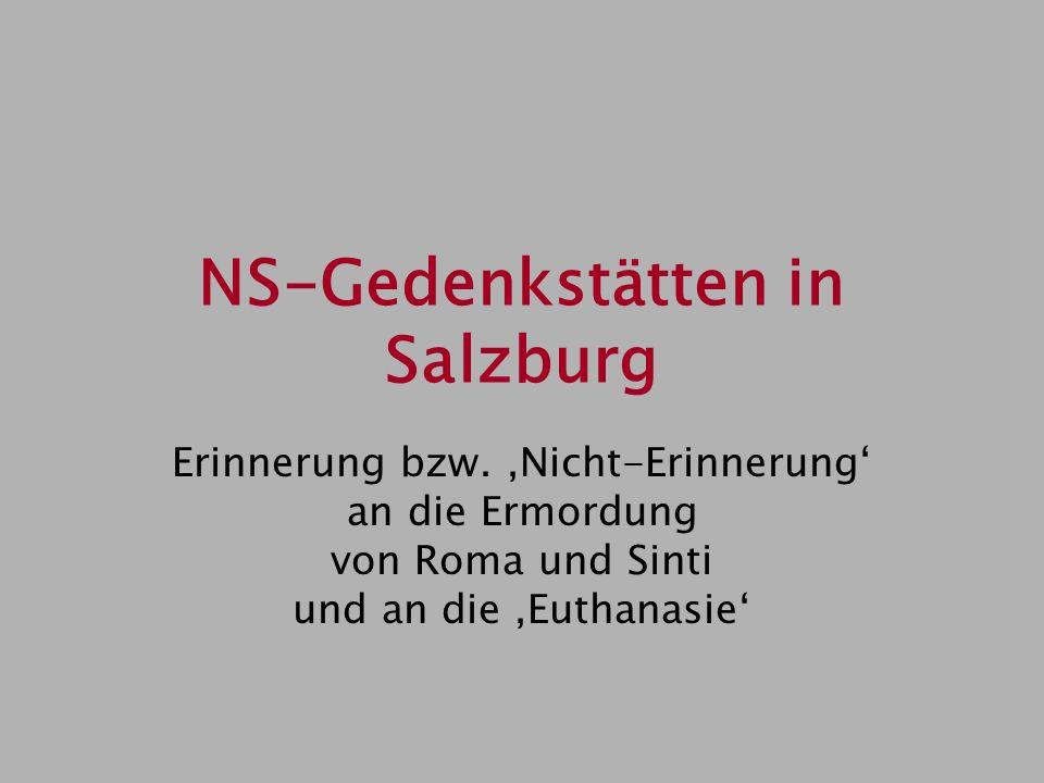 NS-Gedenkstätten in Salzburg