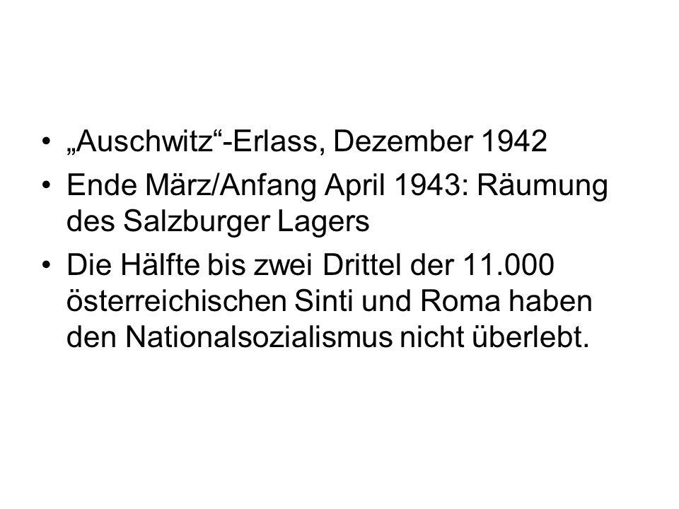 """""""Auschwitz -Erlass, Dezember 1942"""