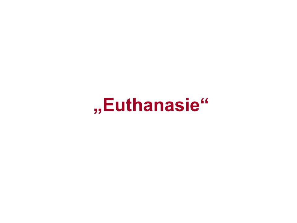 """Euthanasie"