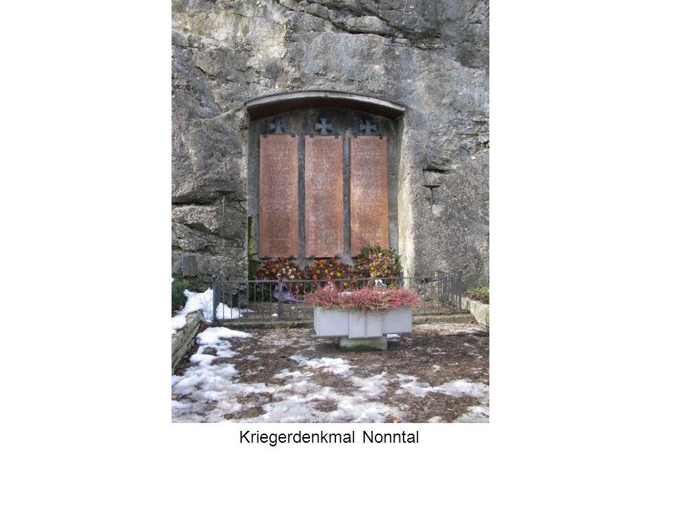 Kriegerdenkmal Nonntal