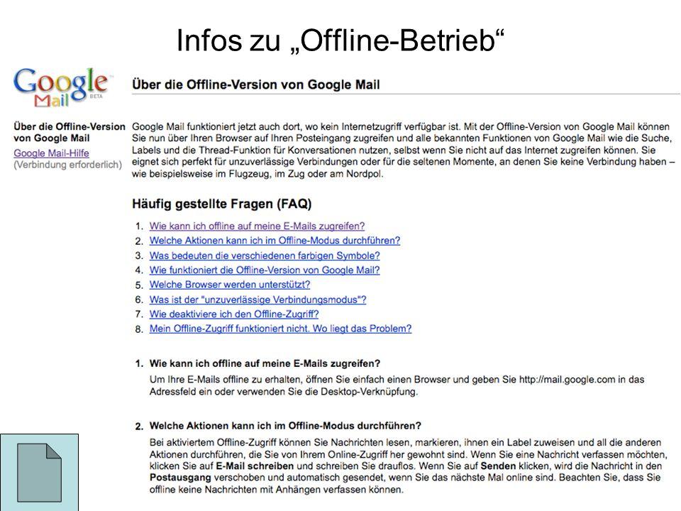 "Infos zu ""Offline-Betrieb"
