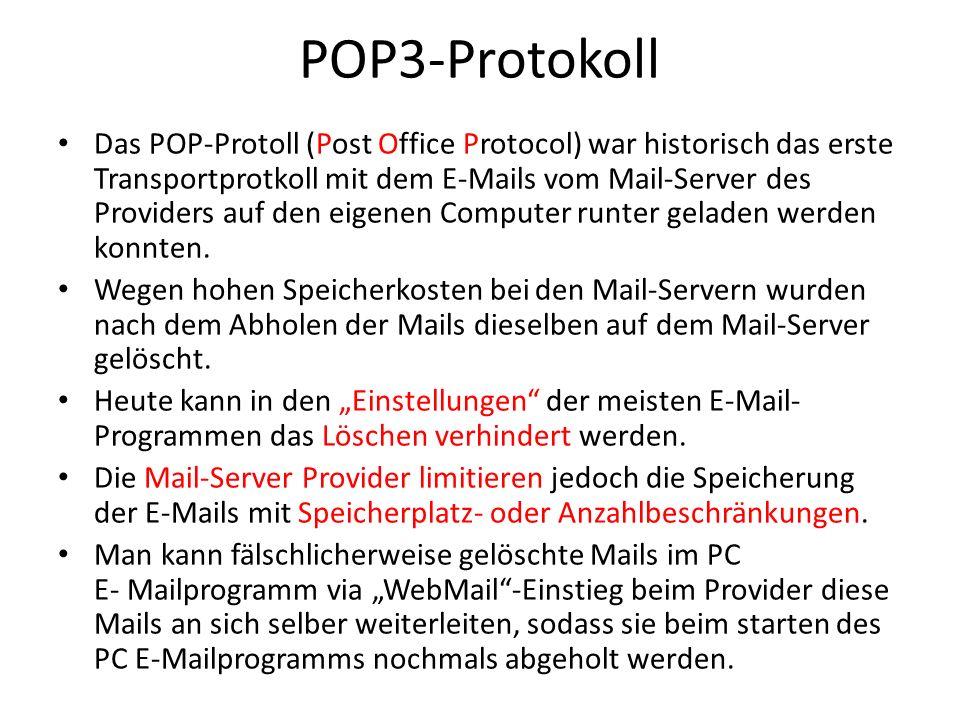 POP3-Protokoll