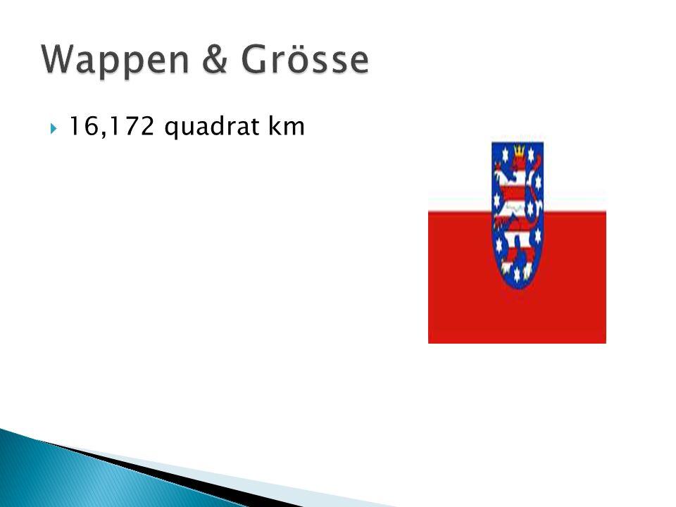Wappen & Grösse 16,172 quadrat km