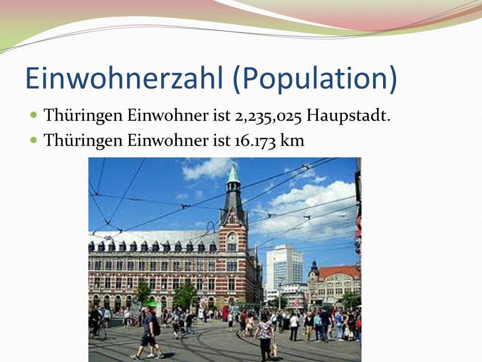 Einwohnerzahl (Population)