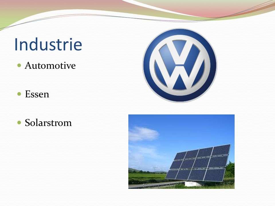 Industrie Automotive Essen Solarstrom