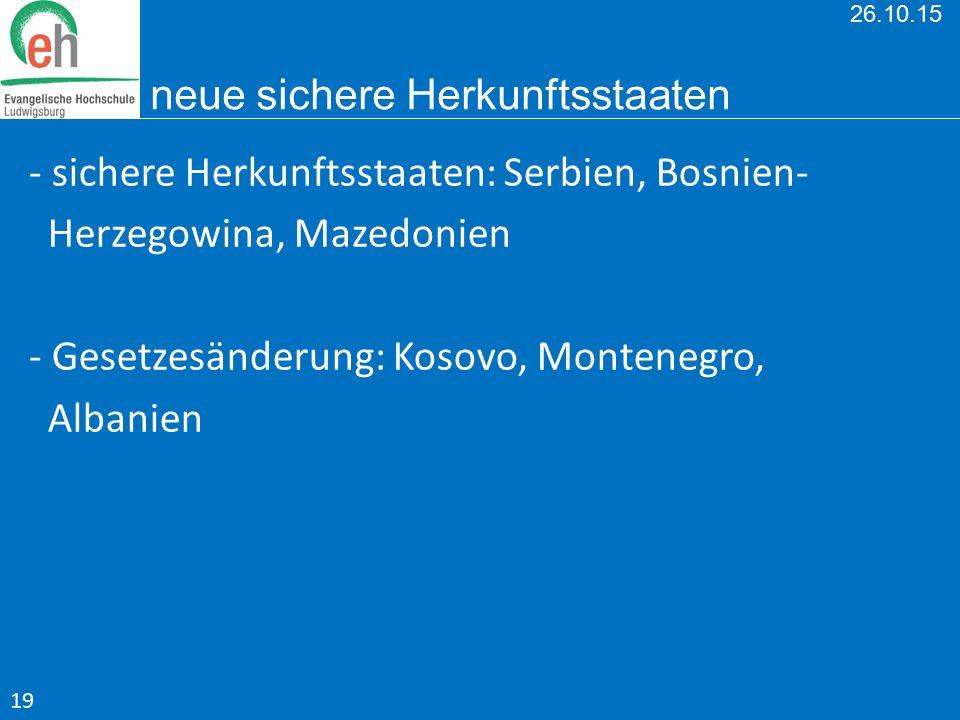 26.10.15 neue sichere Herkunftsstaaten