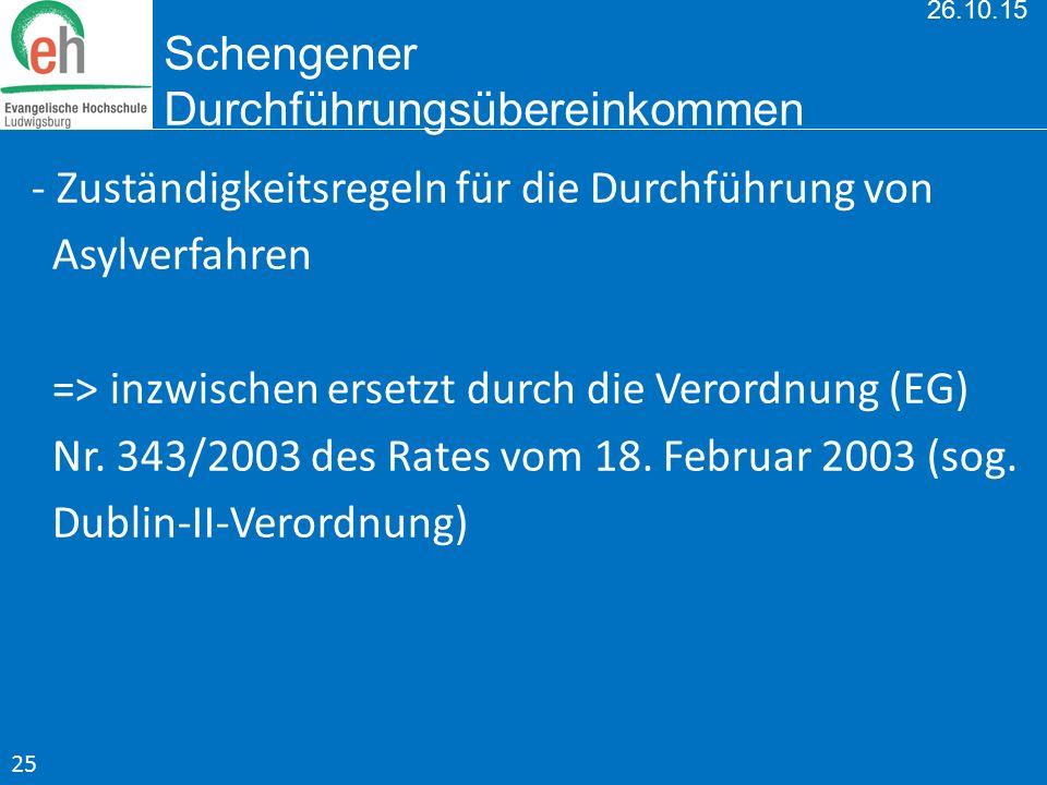 26.10.15 Schengener Durchführungsübereinkommen