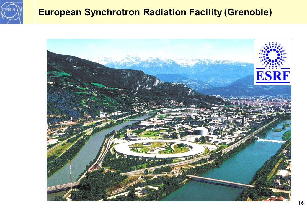 European Synchrotron Radiation Facility (Grenoble)