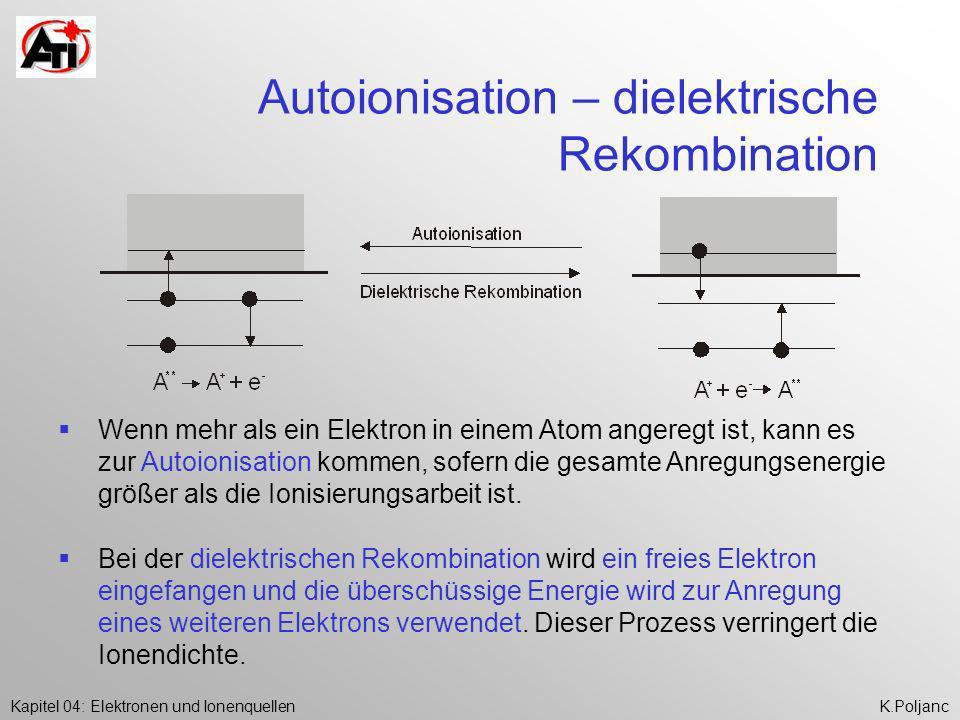 Autoionisation – dielektrische Rekombination