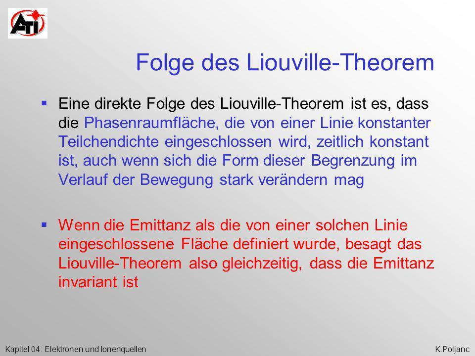 Folge des Liouville-Theorem