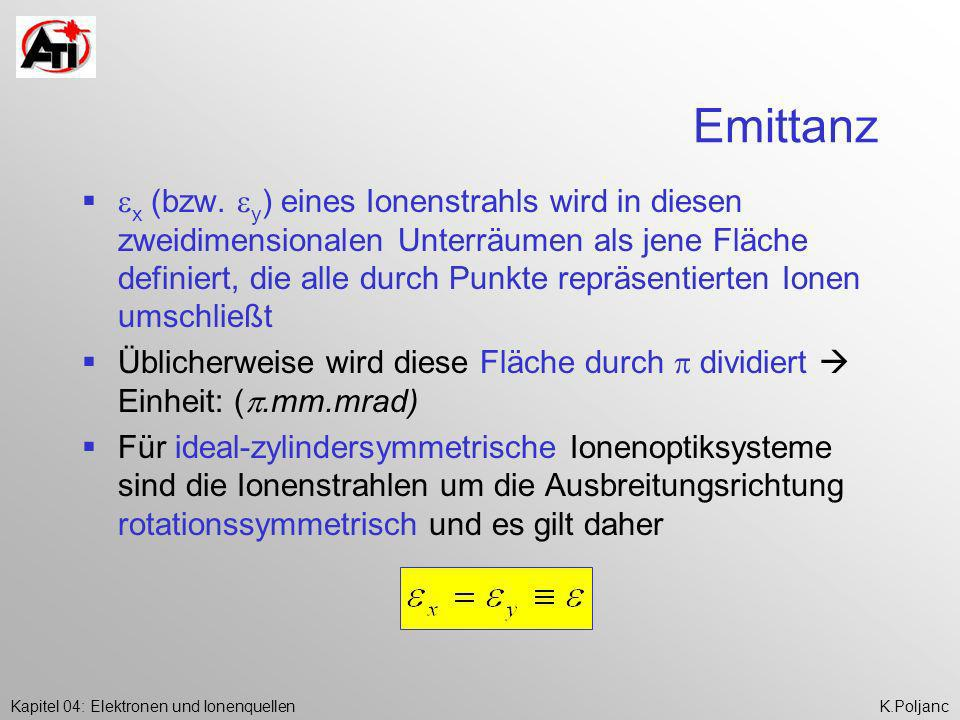 Emittanz