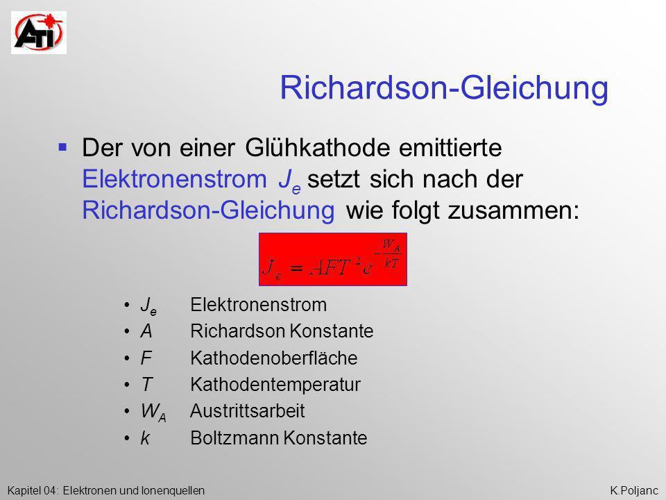 Richardson-Gleichung