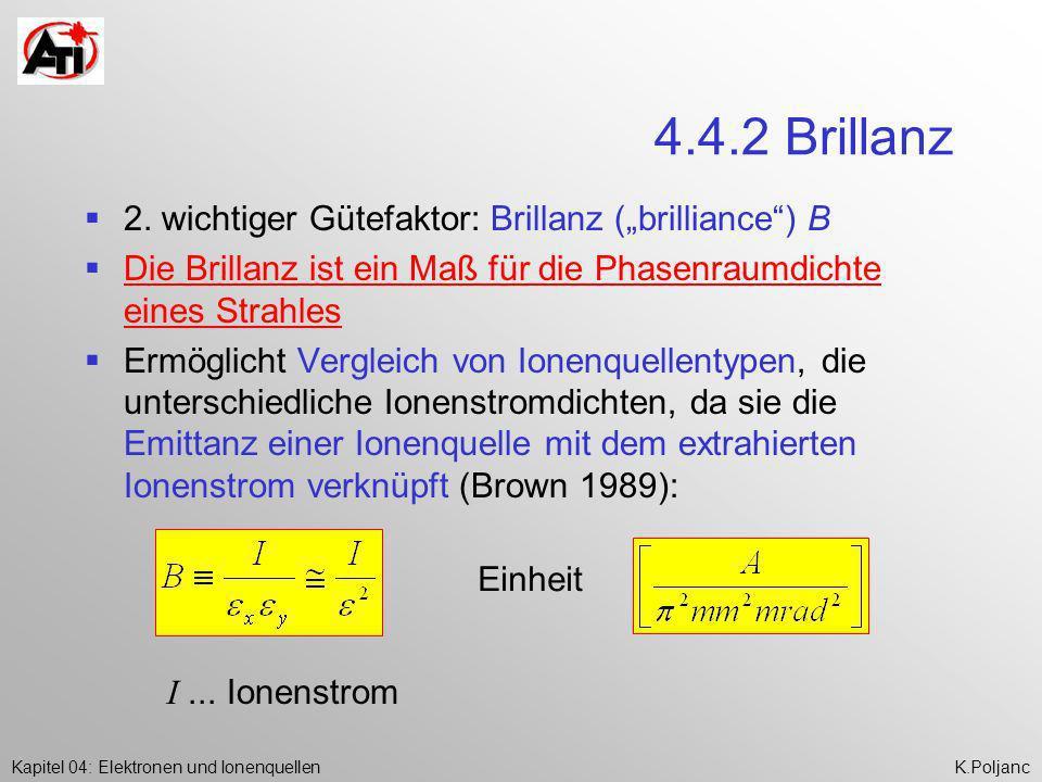 "4.4.2 Brillanz 2. wichtiger Gütefaktor: Brillanz (""brilliance ) B"