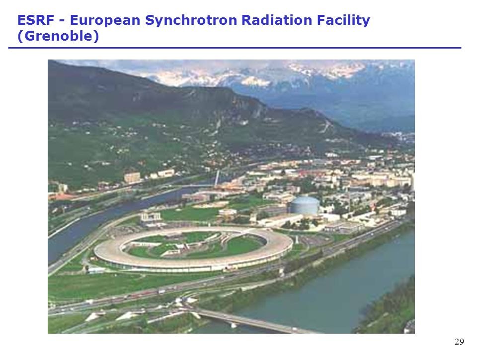 ESRF - European Synchrotron Radiation Facility (Grenoble)