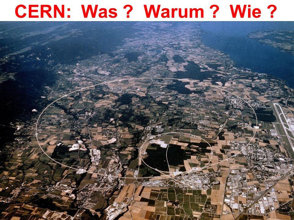 CERN: Was Warum Wie