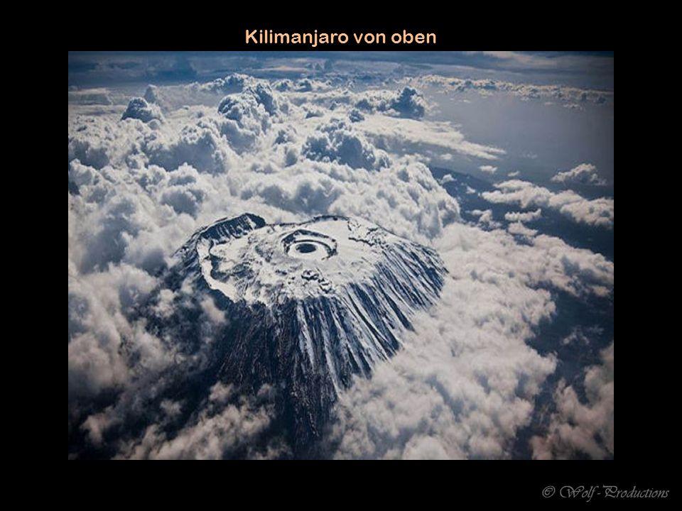Kilimanjaro von oben