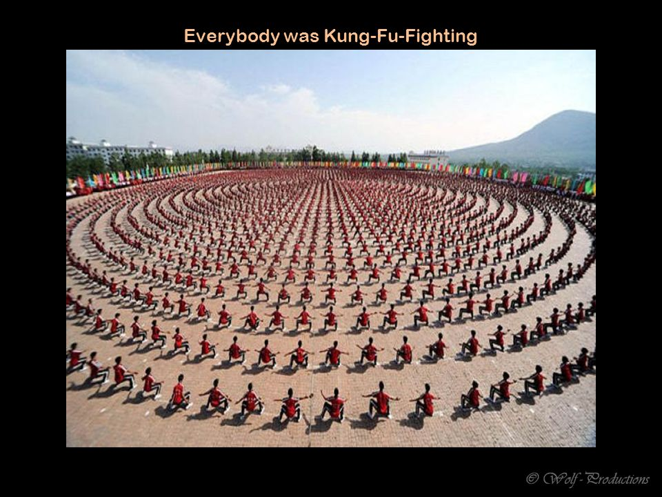 Everybody was Kung-Fu-Fighting