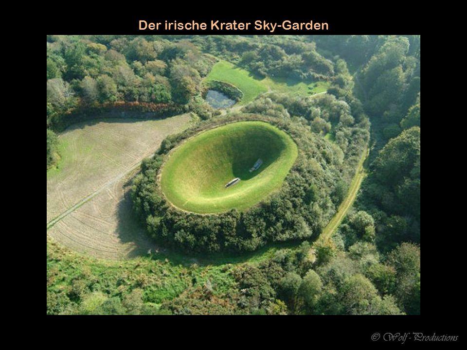 Der irische Krater Sky-Garden