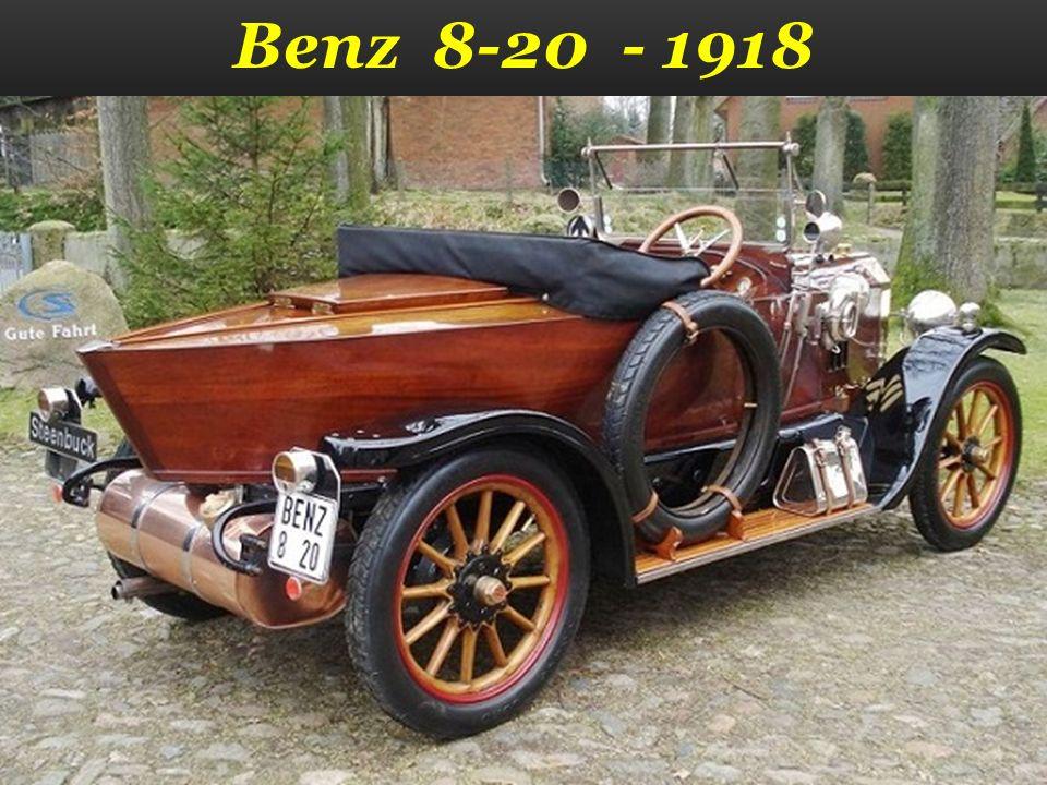 Benz 8-20 - 1918