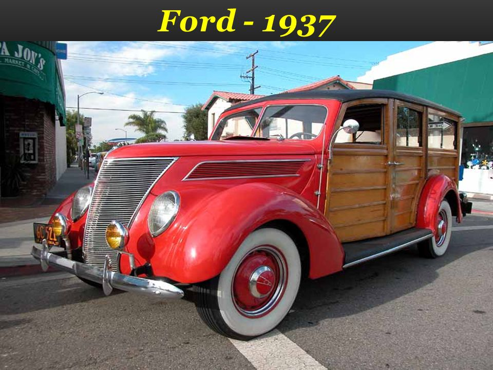 Ford - 1937