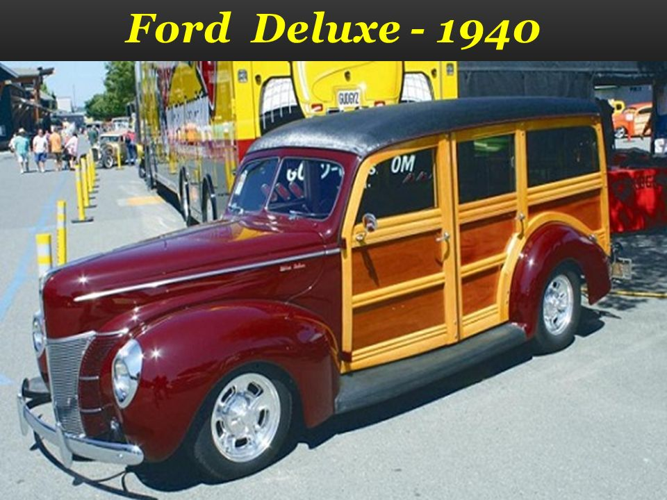 Ford Deluxe - 1940