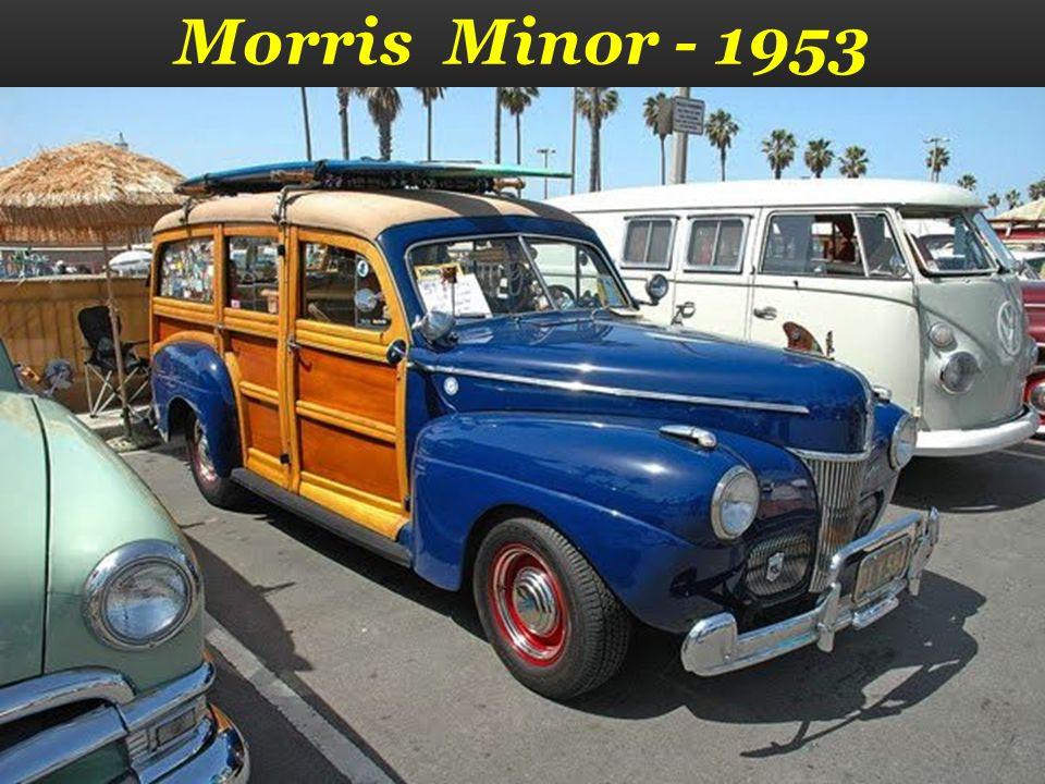 Morris Minor - 1953