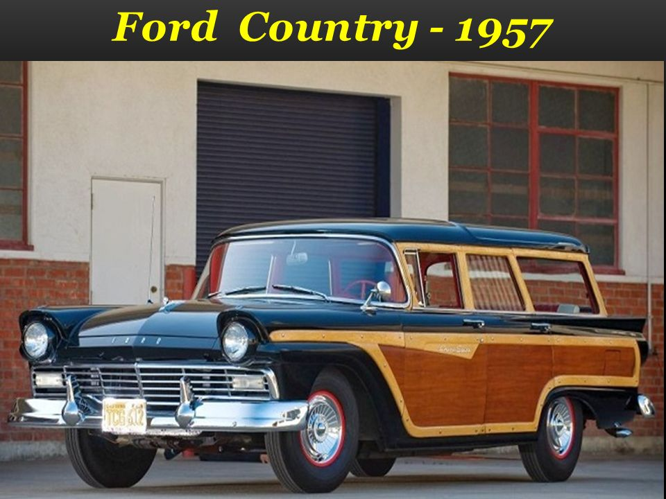 Ford Country - 1957