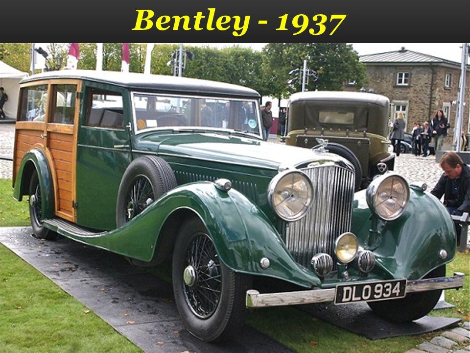 Bentley - 1937
