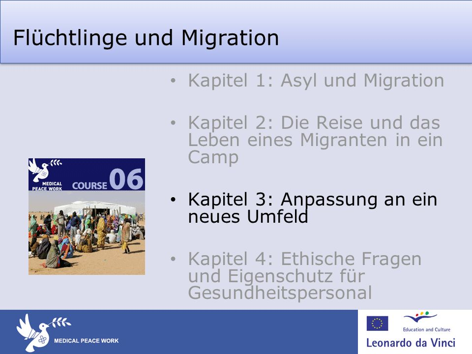 Flüchtlinge und Migration