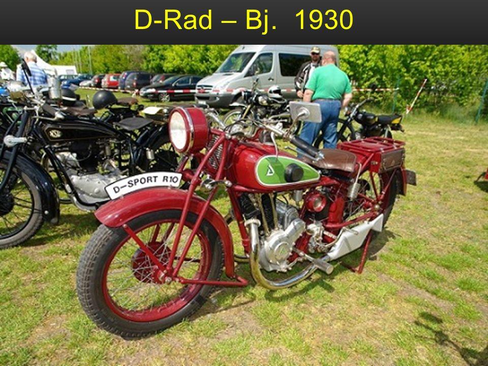 D-Rad – Bj. 1930