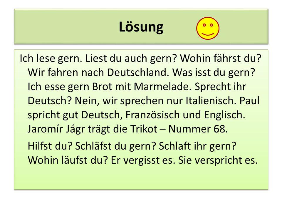 versprechen sie deutsch