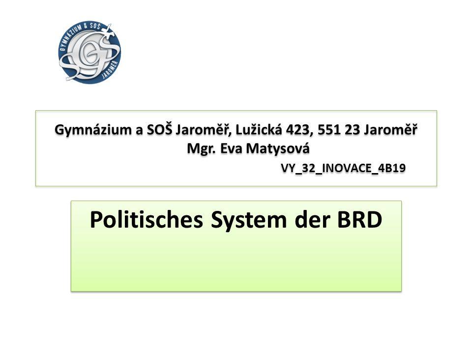 Politisches System der BRD