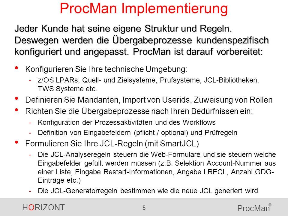 ProcMan Implementierung