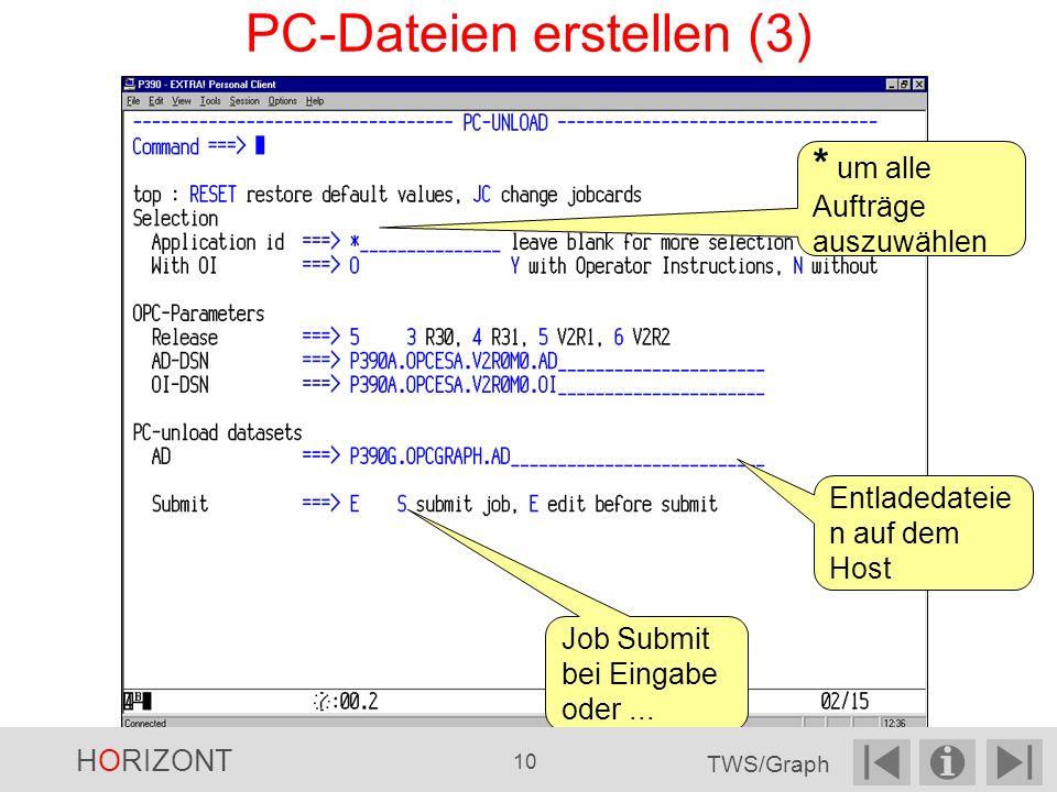 PC-Dateien erstellen (3)