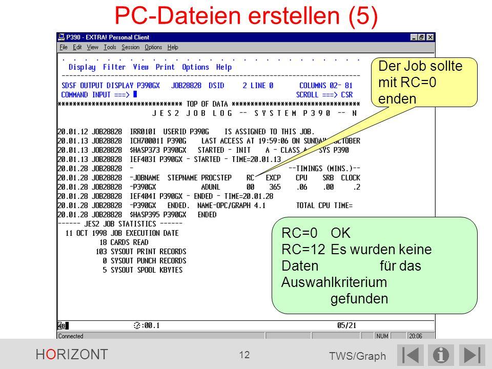 PC-Dateien erstellen (5)