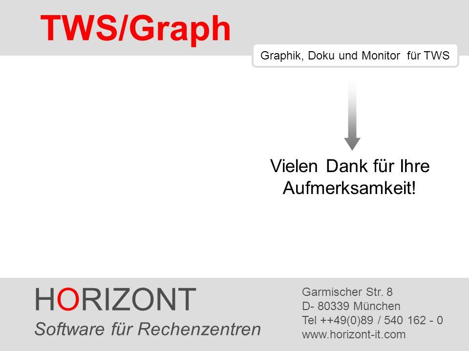 TWS/Graph HORIZONT Vielen Dank für Ihre Aufmerksamkeit!