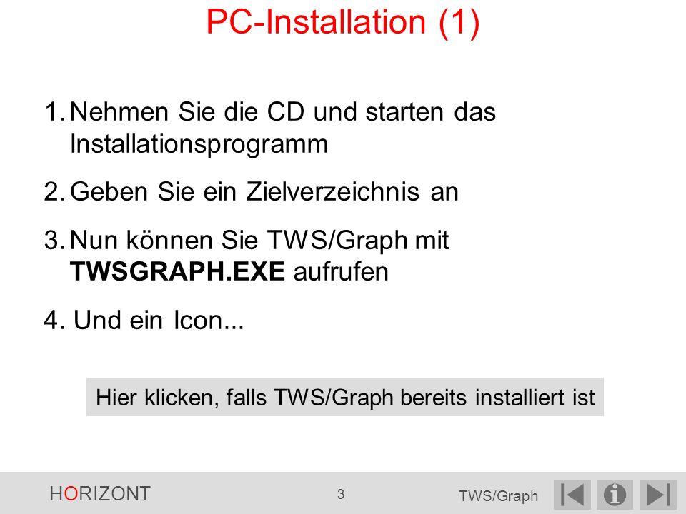 Hier klicken, falls TWS/Graph bereits installiert ist
