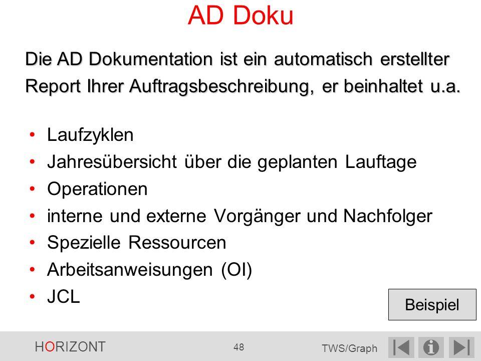 AD Doku Die AD Dokumentation ist ein automatisch erstellter Report Ihrer Auftragsbeschreibung, er beinhaltet u.a.