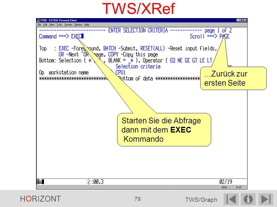 TWS/XRef ...Zurück zur ersten Seite