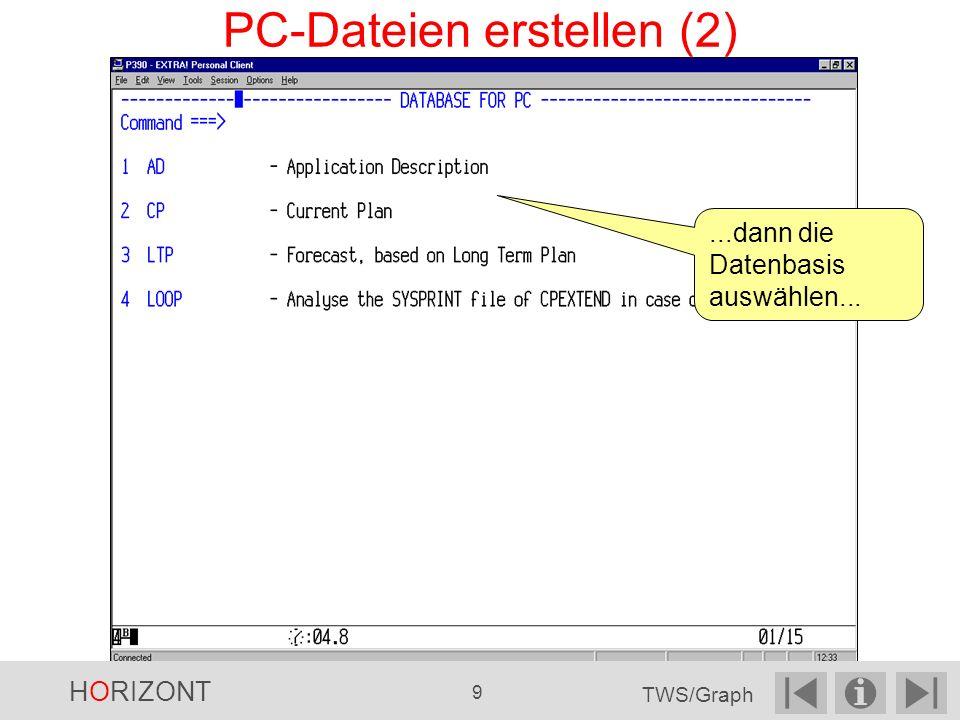 PC-Dateien erstellen (2)