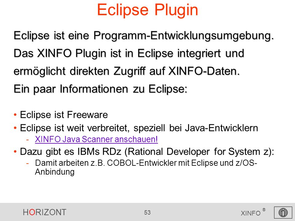 Eclipse Plugin