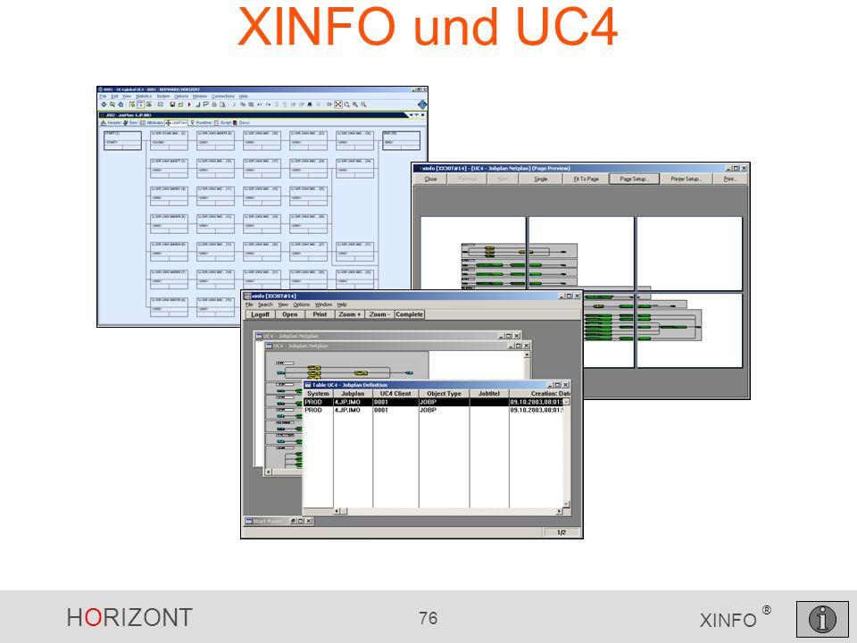 XINFO und UC4