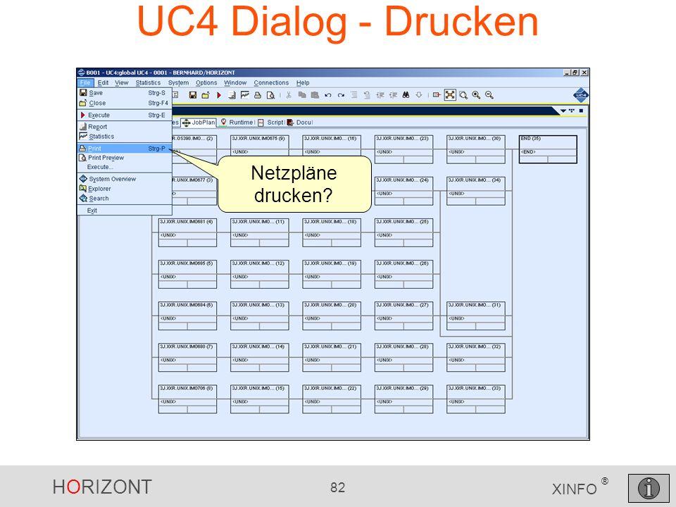 UC4 Dialog - Drucken Netzpläne drucken