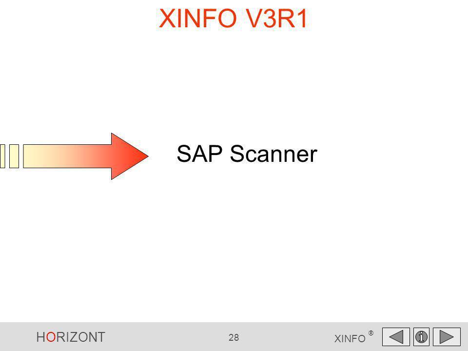 XINFO V3R1 SAP Scanner SAP Scanner