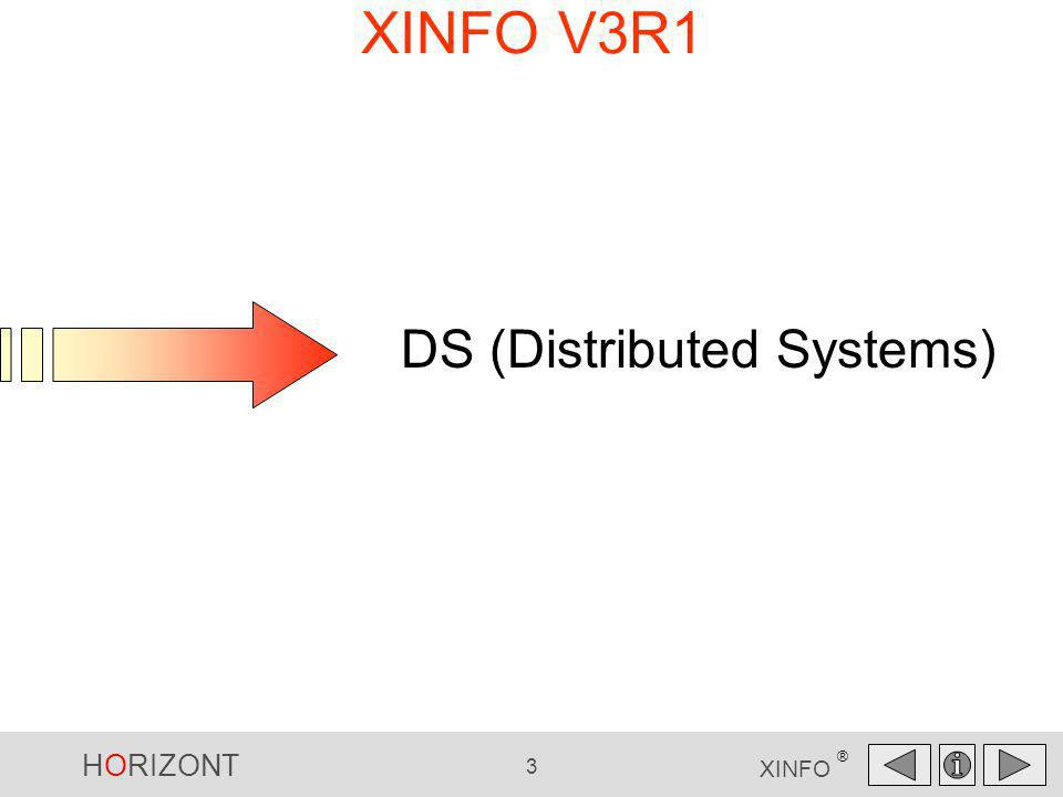 XINFO V3R1 DS DS (Distributed Systems)