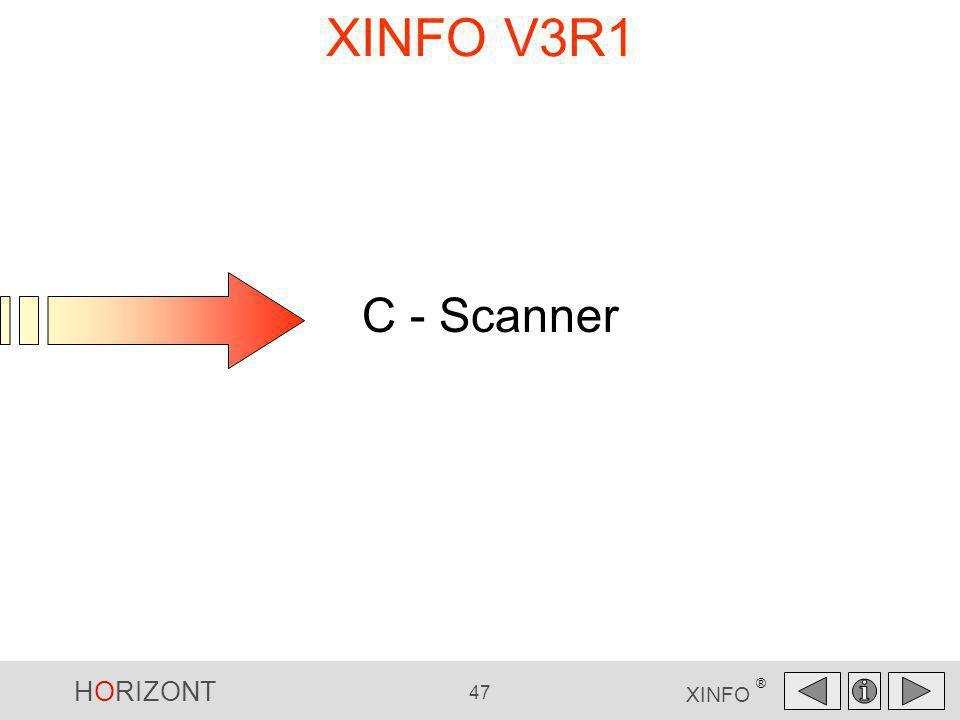 XINFO V3R1 C - Scanner C - Scanner