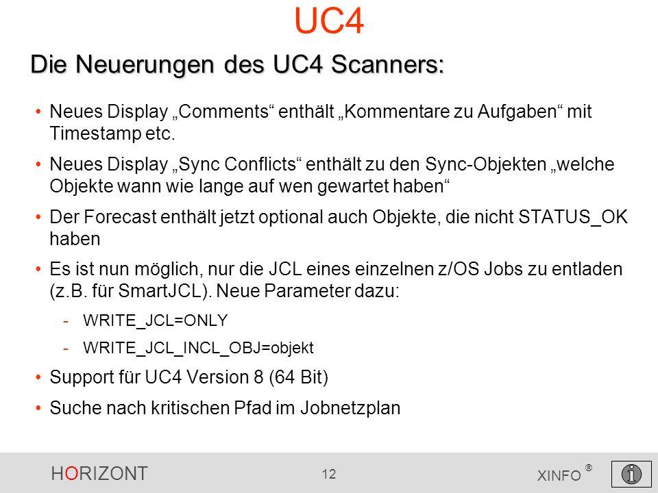 UC4 Die Neuerungen des UC4 Scanners: